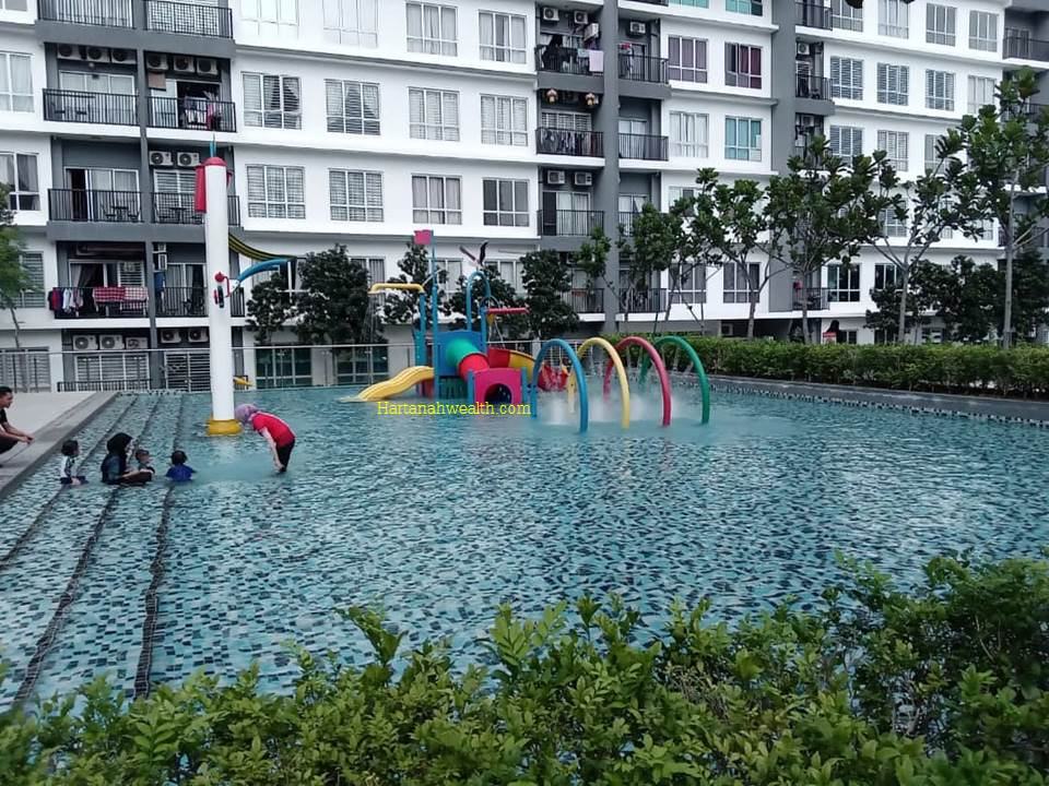 Reno and Fully furnish BSP 21 Condo Serviced Residence